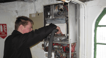 commercial plumbing & heating repair