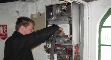 commercial plumbing & heating repair