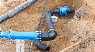underground water pipe repair and adjustment