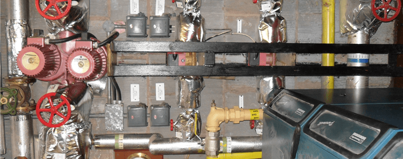 Plant room gas leak find and repair