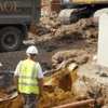 pipe groundworks installation